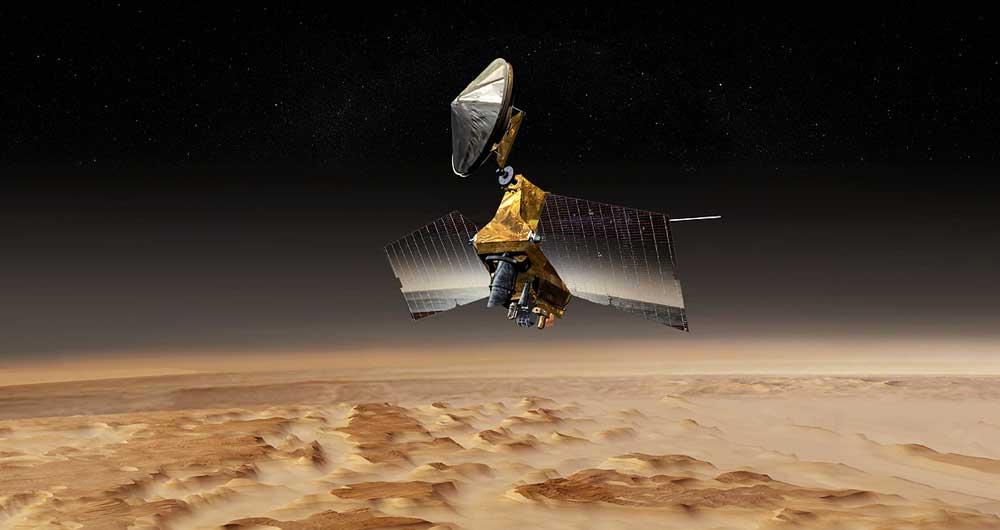زمین از مریخ چگونه دیده می شود؟ + عکس
