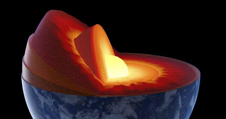 عنصر سیلیکون در هسته زمین