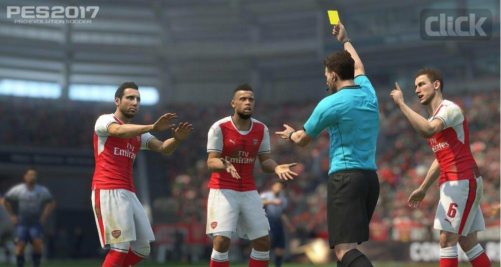 PES 2017 Referee