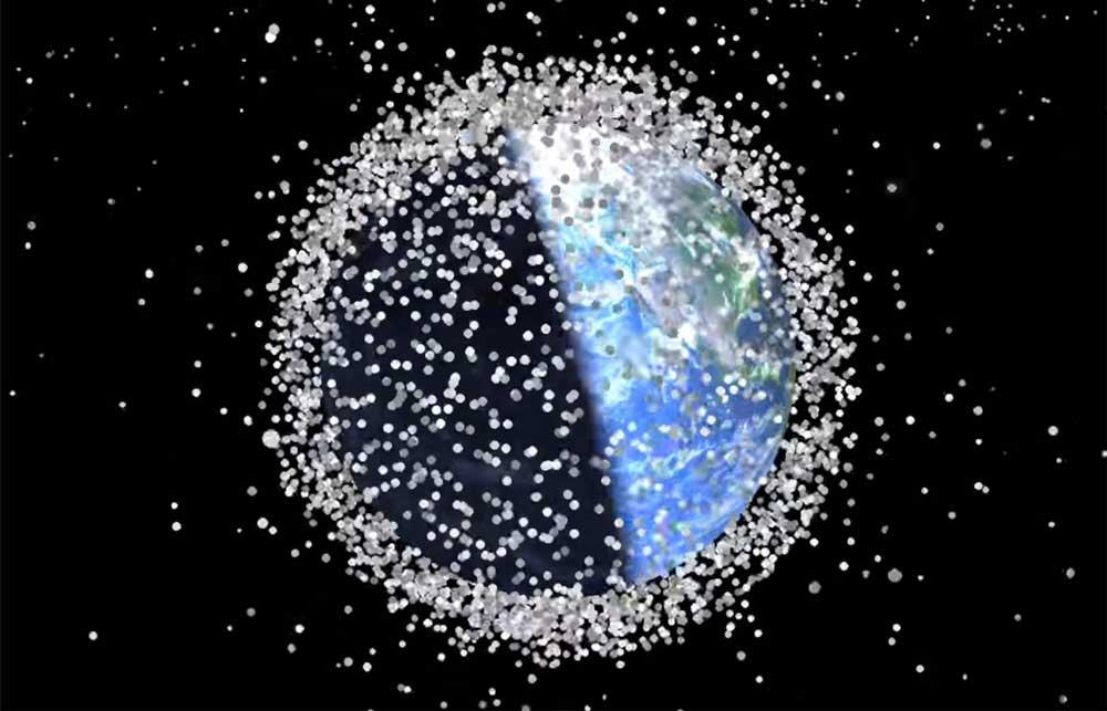زباله فضایی