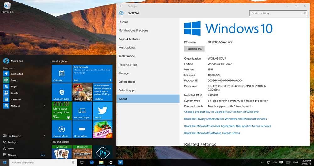 ارتقای نسخه 32 بیتی ویندوز 10 به نسخه 64 بیتی آن