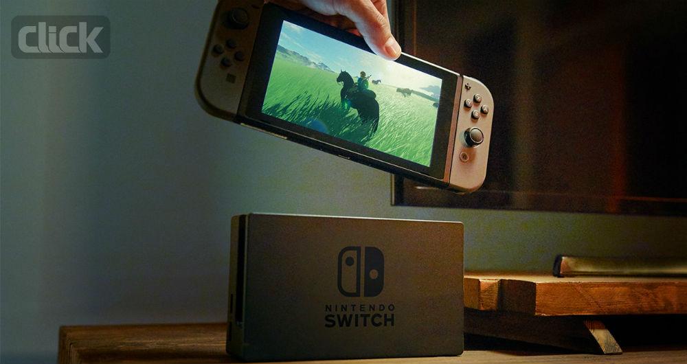 کنسول بازی دستی Nintendo Switch