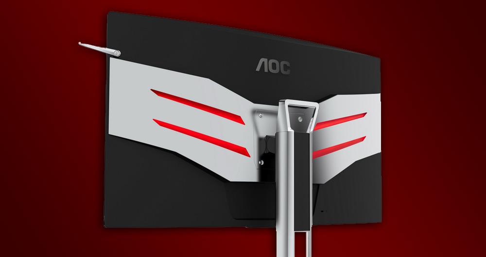 AOC دو مانیتور خمیده جدید برای گیمر ها و طراحان عرضه کرد