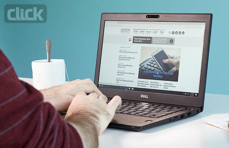 صفحه نمایش کم رنگ Dell Latitude 7280