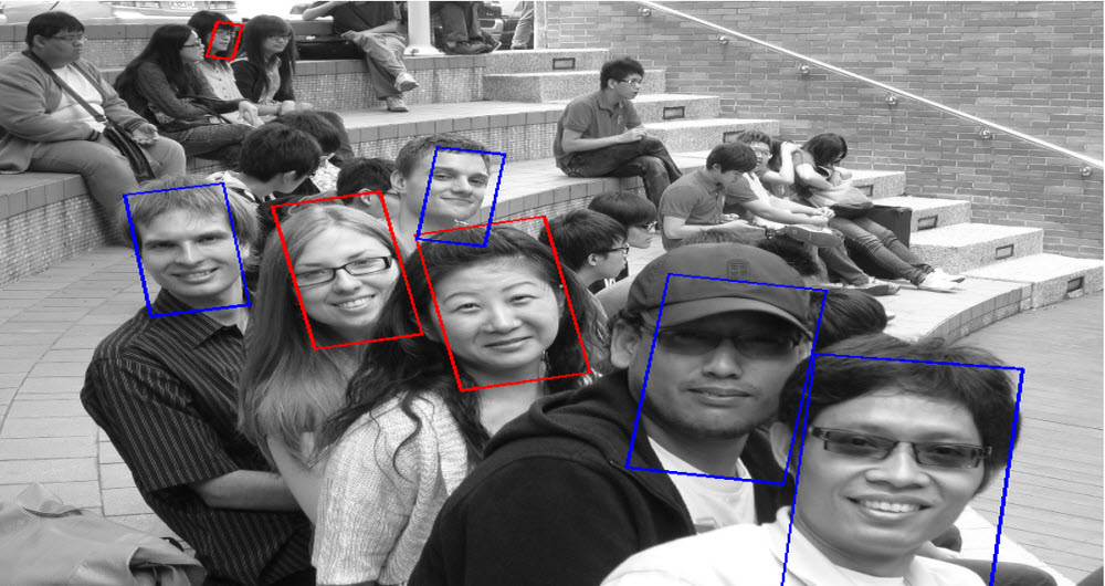 Face recognition software is not able to detect race