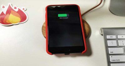 مجهز کردن گوشی های آیفون به فناوری شارژ بی سیم
