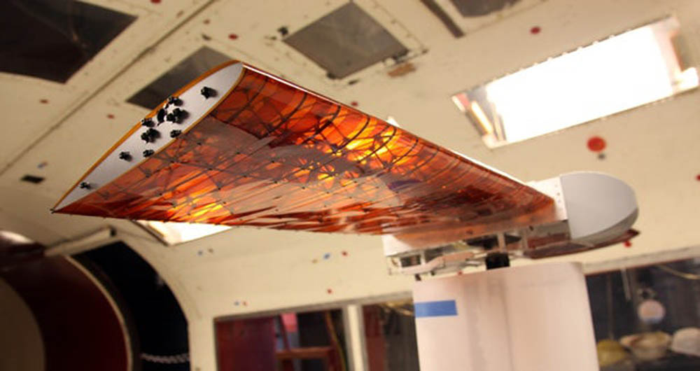 پروژه جدید ناسا؛باله هایی که در شرایط متفاوت تغییر شکل می دهند