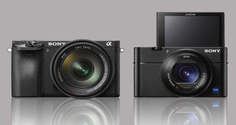 معرفی دو دوربین Sony A6500 و Sony RX100 V