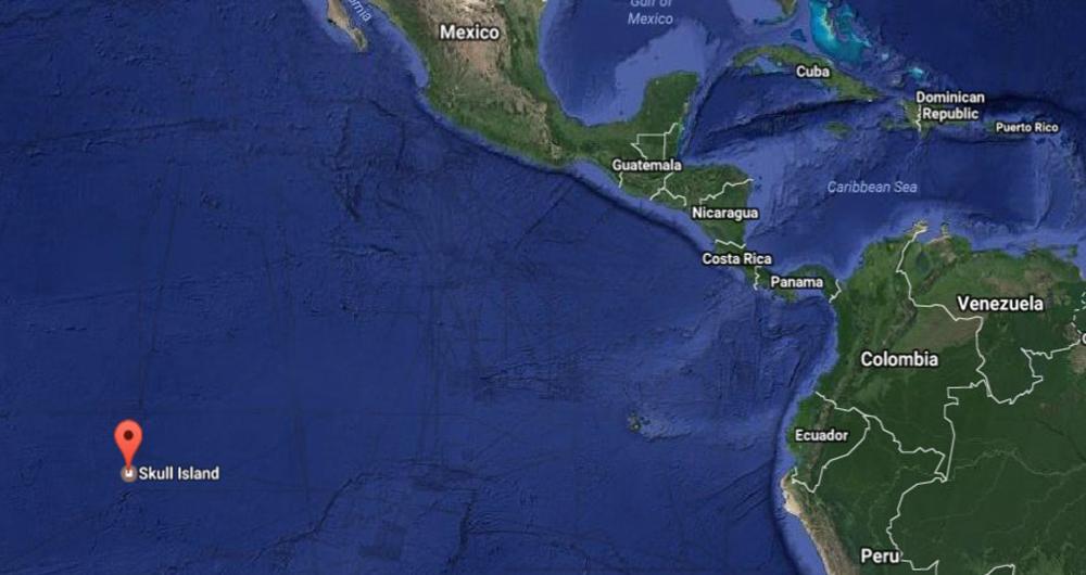 جزیره جمجمه جایی نیست که نقشه گوگل آن را نشان میدهد!