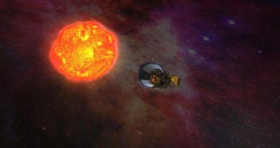کاوشگر ناسا به سمت خورشید