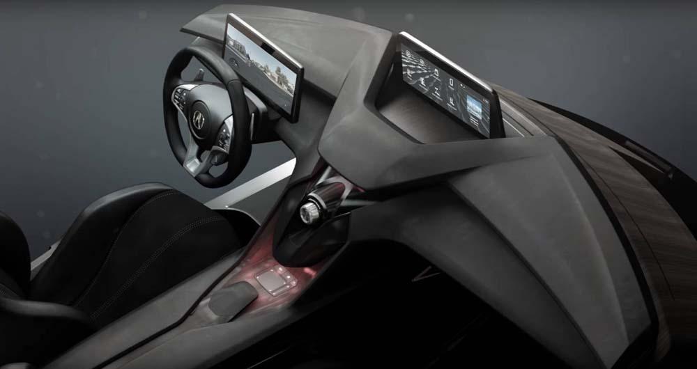Precision Cockpit؛ یک طرح مفهومی عالی برای طراحی داخلی خودروهای آکورا