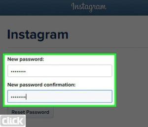 در بخش ایجاد رمز عبور جدید با وارد نمودن رمز عبور دلخواه و تایید آن به اکانت خود دسترسی پیدا می کنید
