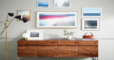 گجت جدید سامسونگ، تلویزیون در قالب یک اثر هنری