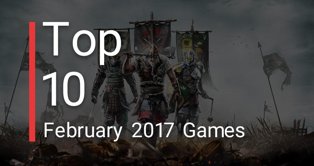 ۱۰ بازی پرفروش ماه فوریه سال ۲۰۱۷ در آمریکا