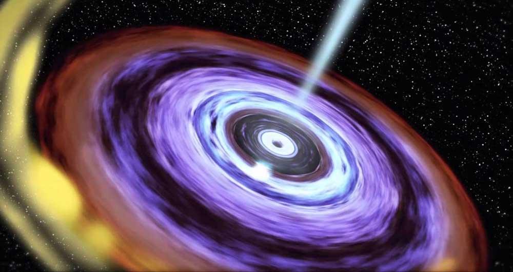ثبت رویدادی تاریخی؛ انیمیشنی از انفجار یک ستاره