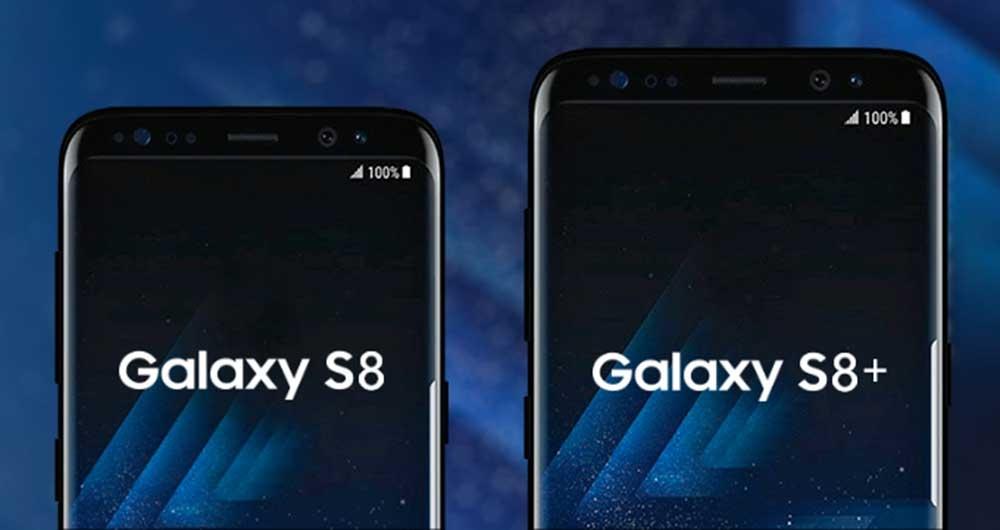 مقایسه اندازه و صفحه نمایش گلکسی اس 8 و اس 8 پلاس