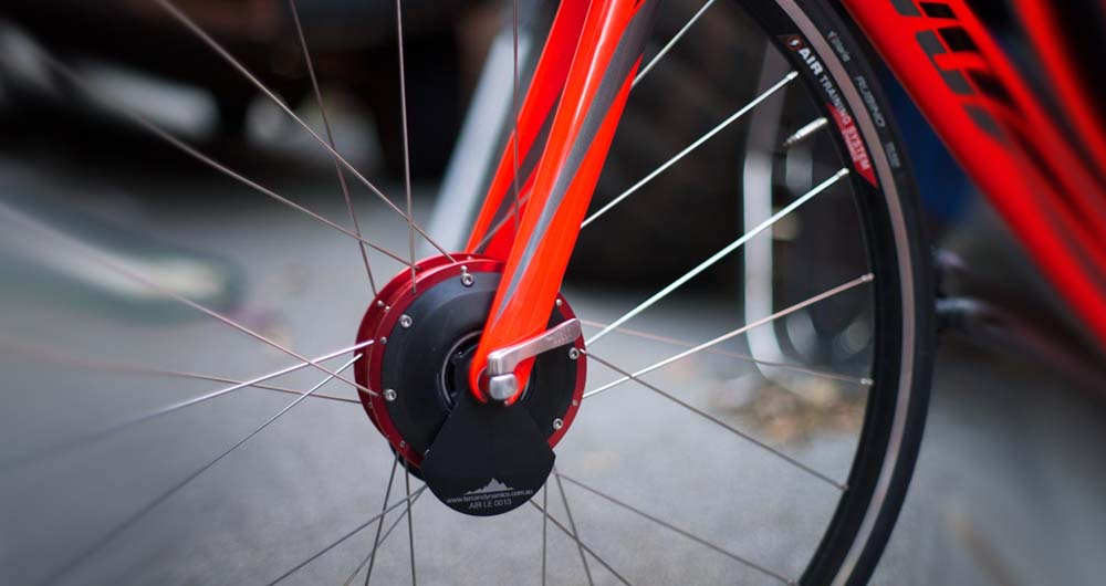 چرخ هوشمندی که سرعت دوچرخه سواری را کاهش می دهد!
