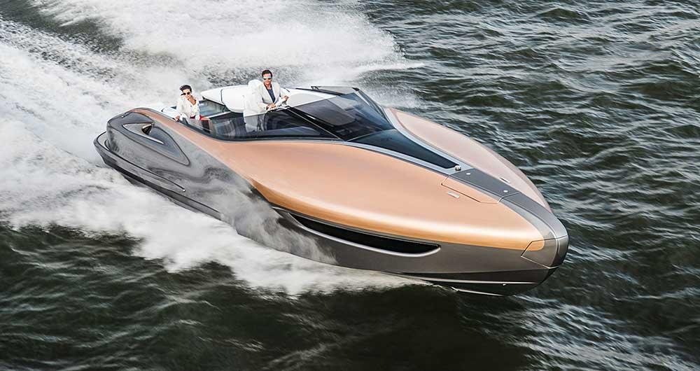 تماشا کنید؛ قایق تندروی Yacht، شاهکار جدید لکسوس