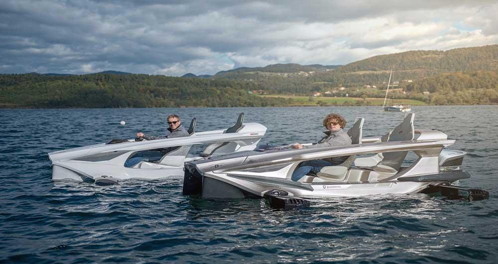 قایق باله دار برقی Quadrofoil Q2