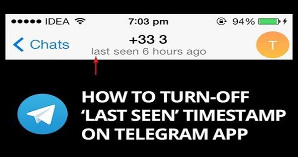 آموزش تصویری عدم نمایش وضعیت آنلاین در تلگرام