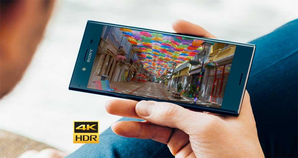 صفحه نمایش گوشی Xperia XZ Premium سونی