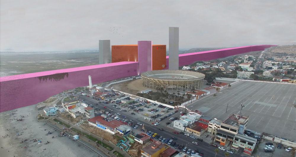پروژه ساخت دیوار مکزیک توسط ترامپ، امری محال!