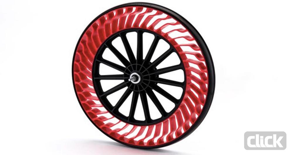 چرخهایی بدون هوای داخلی