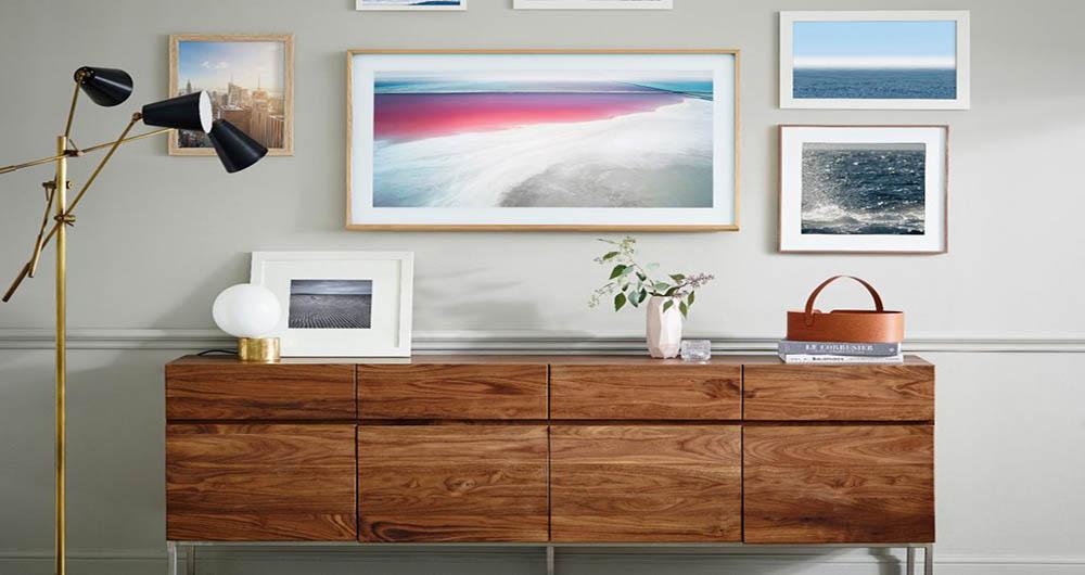ساخت تلویزیون هوشمند چوبی توسط سامسونگ