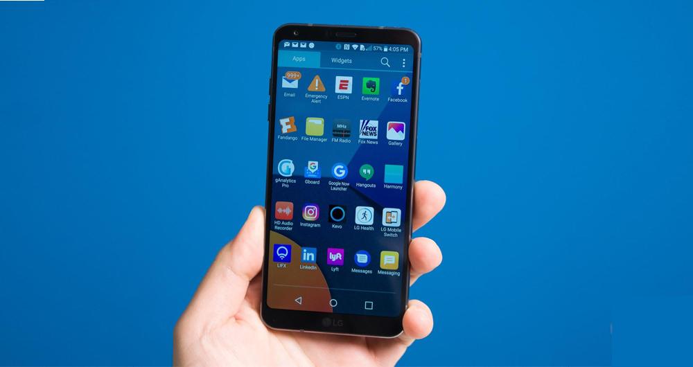 عرضه الجی G6 در ابعاد 5.4 اینچی