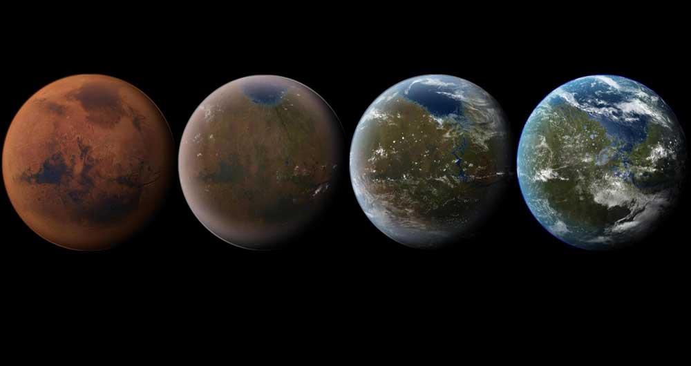 مریخ برای سکونت زمینی ها آماده می شود