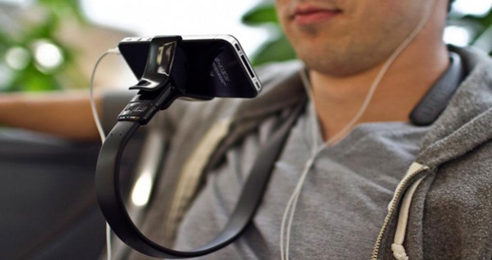 کنترل تلفن هوشمند به وسیله حرکات صورت با یک هندزفری خاص