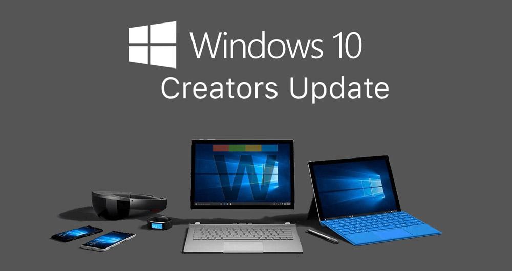 آموزش به روز رسانی ویندوز ۱۰ به نسخه جدید Creators