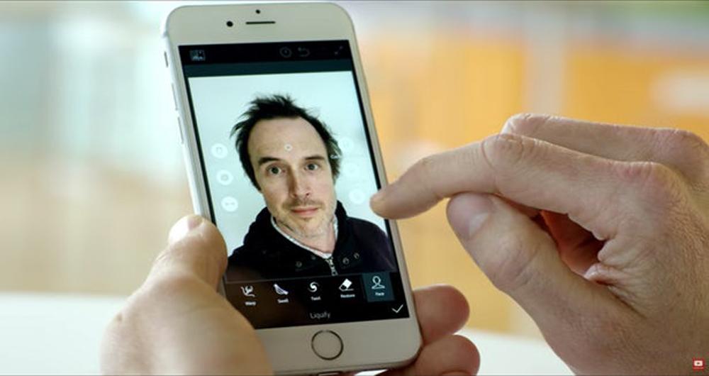 بهبود عکس های سلفی توسط اپلیکیشن کمپانی ادوبی