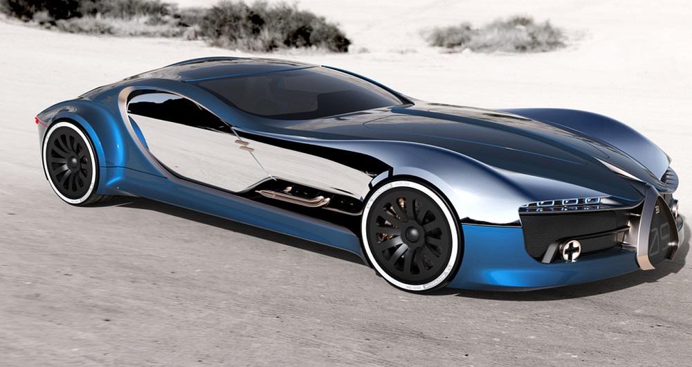 بوگاتی Type 57 T Concept خودرو رویایی آینده