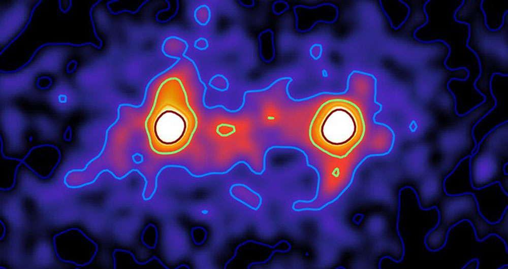 ثبت اولین تصاویر از ماده تاریک توسط نجوم شناسان