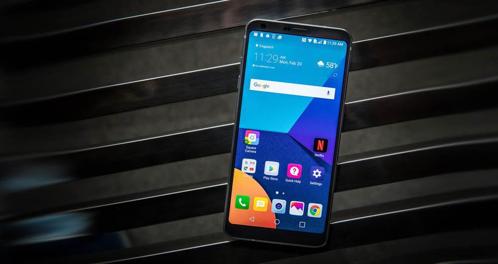 صد اپلیکیشن مخصوص صفحه نمایش ۱۸:۹ گوشی LG G6 منتشر می شود
