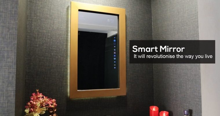Nuovo Touchscreen Smart Mirror Launch