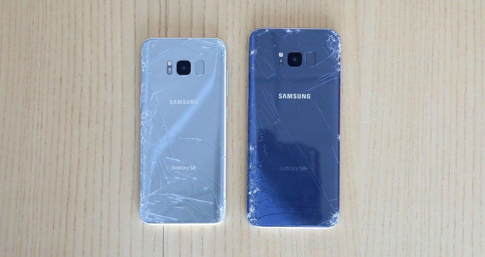 میزان شکنندگی گوشی های گلکسی S8 و +S8 افزایش یافت