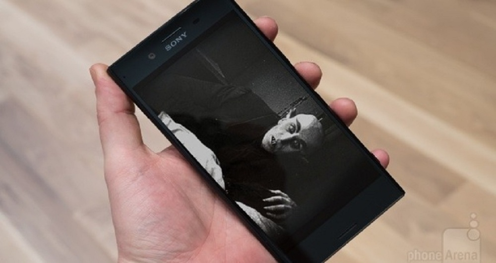 An artist's depiction of the next Sony flagship
