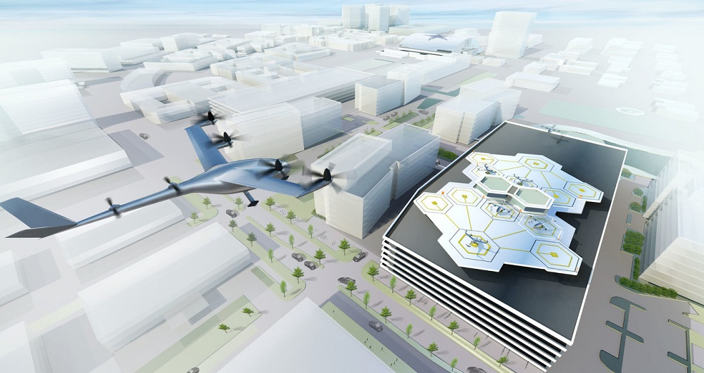 پرواز تاکسی های پرنده اوبر بر فراز آسمان دوبی و تگزاس تا سال ۲۰۲۰