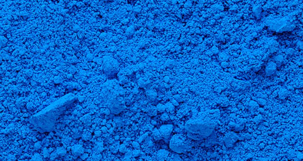 اولین رنگ آبی موجود در زمین