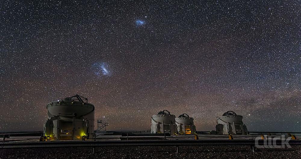پل بزرگ آهنربایی میان کهکشان ها