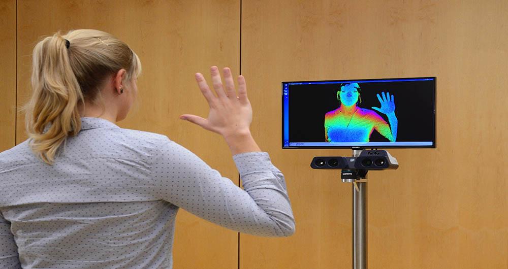 واقعیترین تصاویر کامپیوتر با اسکنر سه بعدی Fraunhofer
