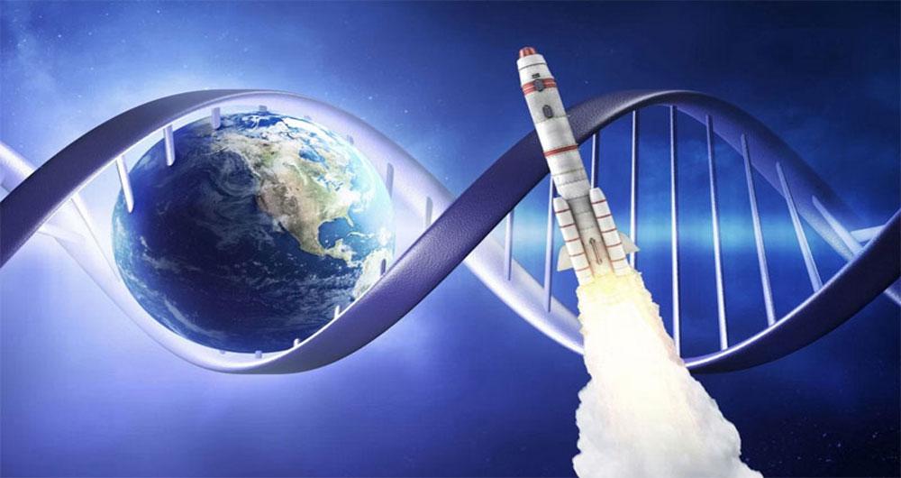 ارسال DNA به فضا و بازگشت آن با سرویس جدید
