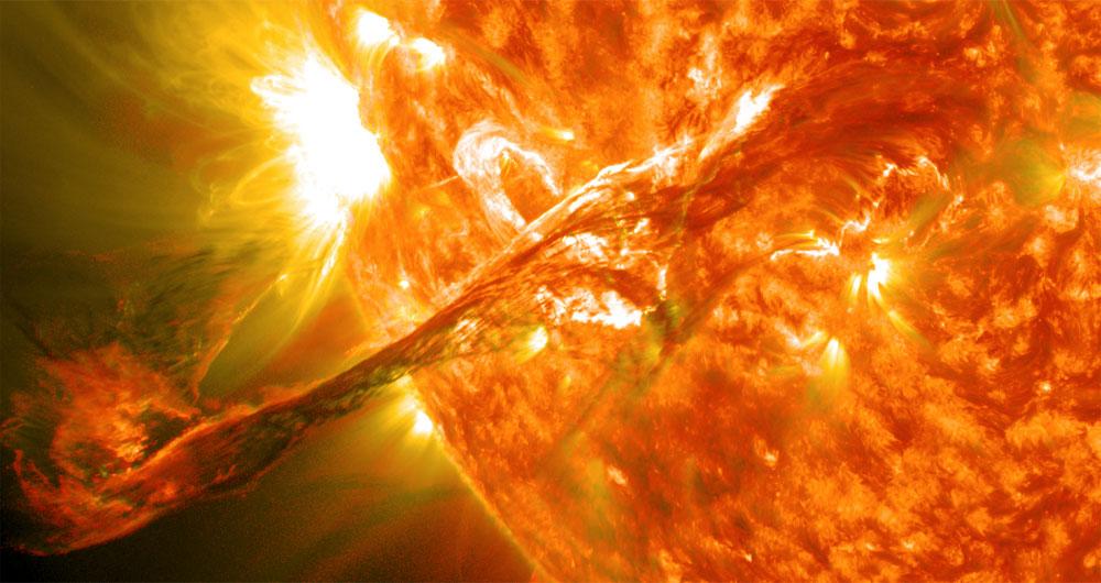 کشف اثر امواج سطح خورشید بر روی آب و هوای زمین