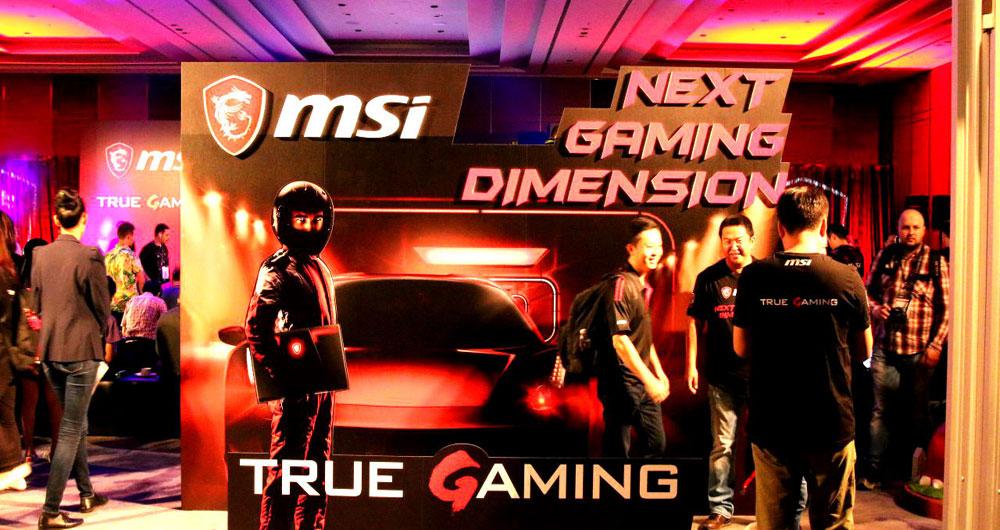 طوفان در صنعت بازی های کامپیوتری با رونمایی از لپتاپ MSI GT75VR