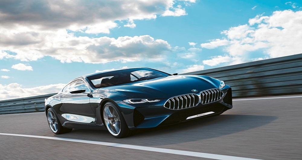 رونمایی BMW از کانسپت سری ۸