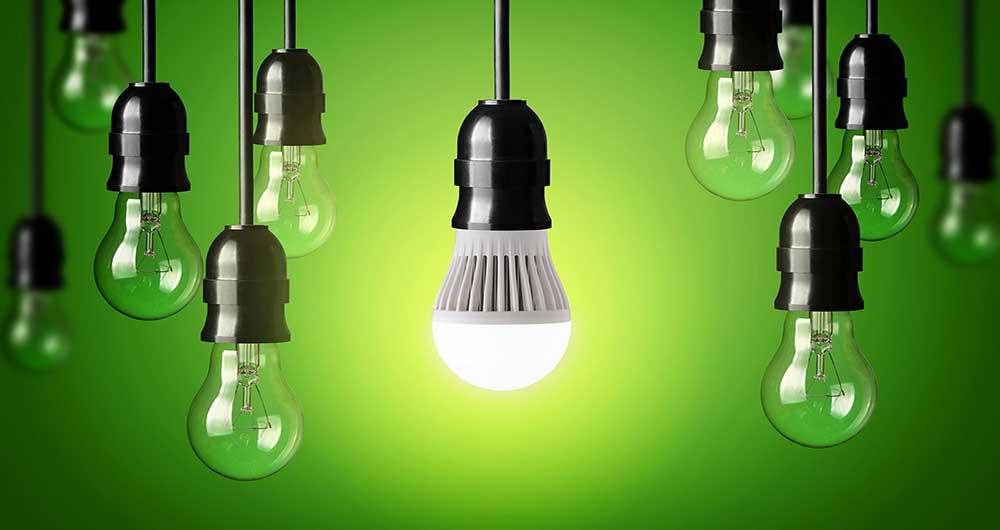 تولید برق از نور لامپ
