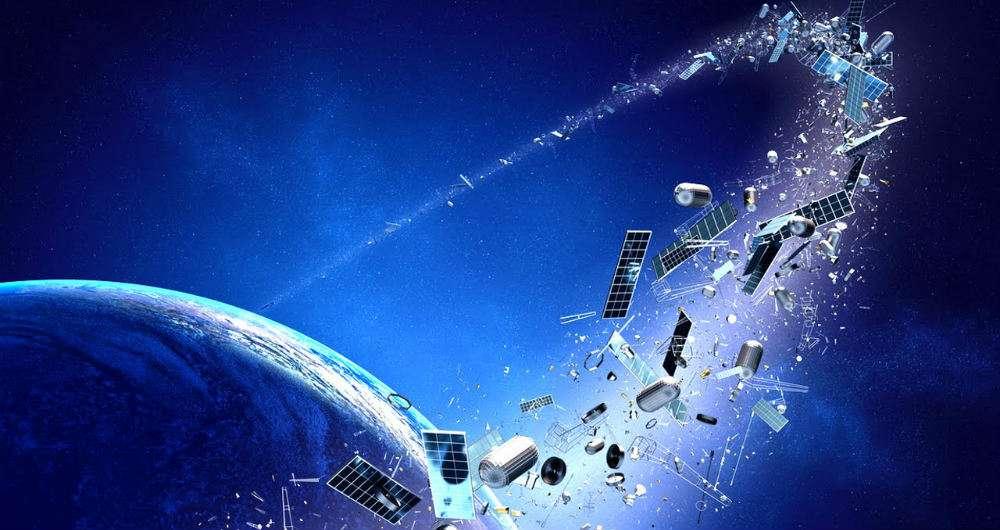 تبدیل زباله های فضایی به خطری بالقوه برای صنعت هوافضا