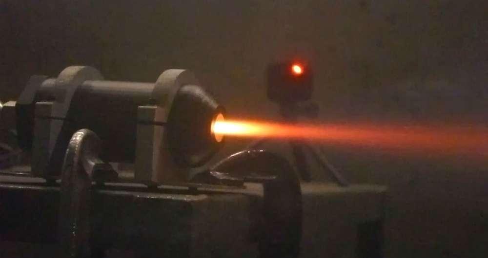 ساخت اولین موتور راکت پلاستیکی توسط محققان دانشگاه MIT